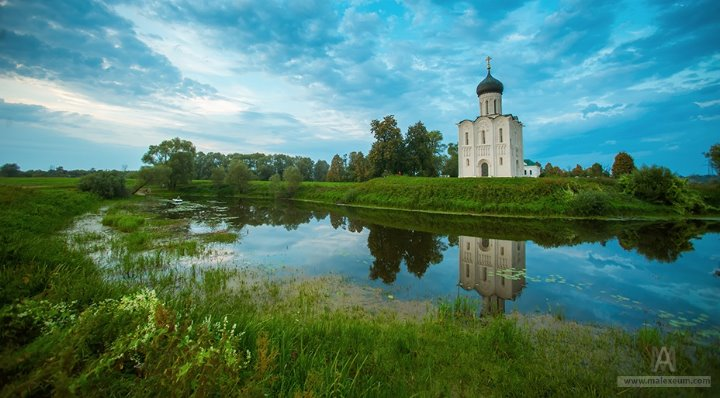 Great spaces of the Russian Kingdom.