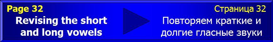 Revising short and long vowels - Повторение кратких и долгих гласных звуков