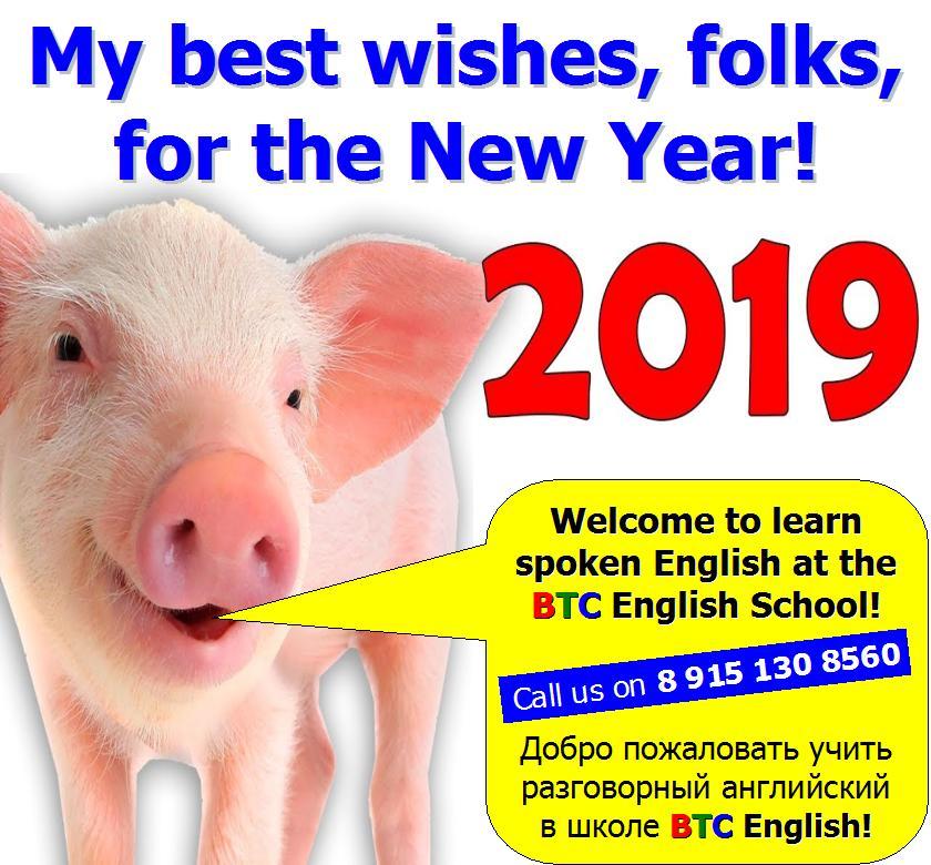 Новый 2019 год Желтой Земляной Свиньи Yellow Earth Pig