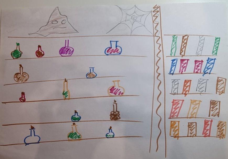 Alga's drawings