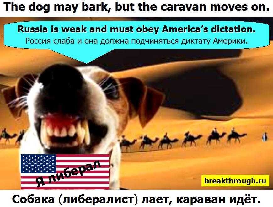 Собака лает караван идёт идет