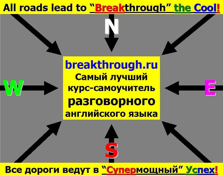 Все дороги ведут в домой лучший курс-самоучитель разговорного английского языка