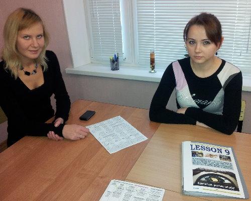 Индивидульный урок разговорного английского с Ольгой Синенко в школе BTC English